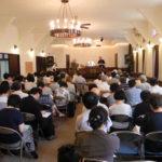 イスラエルよりデービッド・フリードマン師夫妻をお迎えしての、第3回再臨待望聖会の様子(2012年9月)