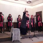 ゴスペルシンガーのNatsukiさんとチームの皆様をお迎えしての、クリスマスコンサート(2011年12月)