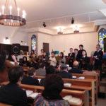 ハレルヤ・コーラスチーム(2011年・クリスマス礼拝にて)